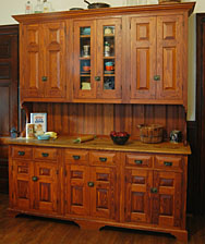 The Cabinet Has Doors With Raised Panels With Molded Frames And Matching  Raised Drawers. The Chippendale Bracket Base, Ogee Crown Molding With  Bullnose Cap ...