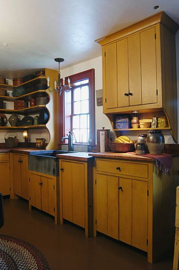 Workshops Of David T Smith Custom Kitchens Primitive